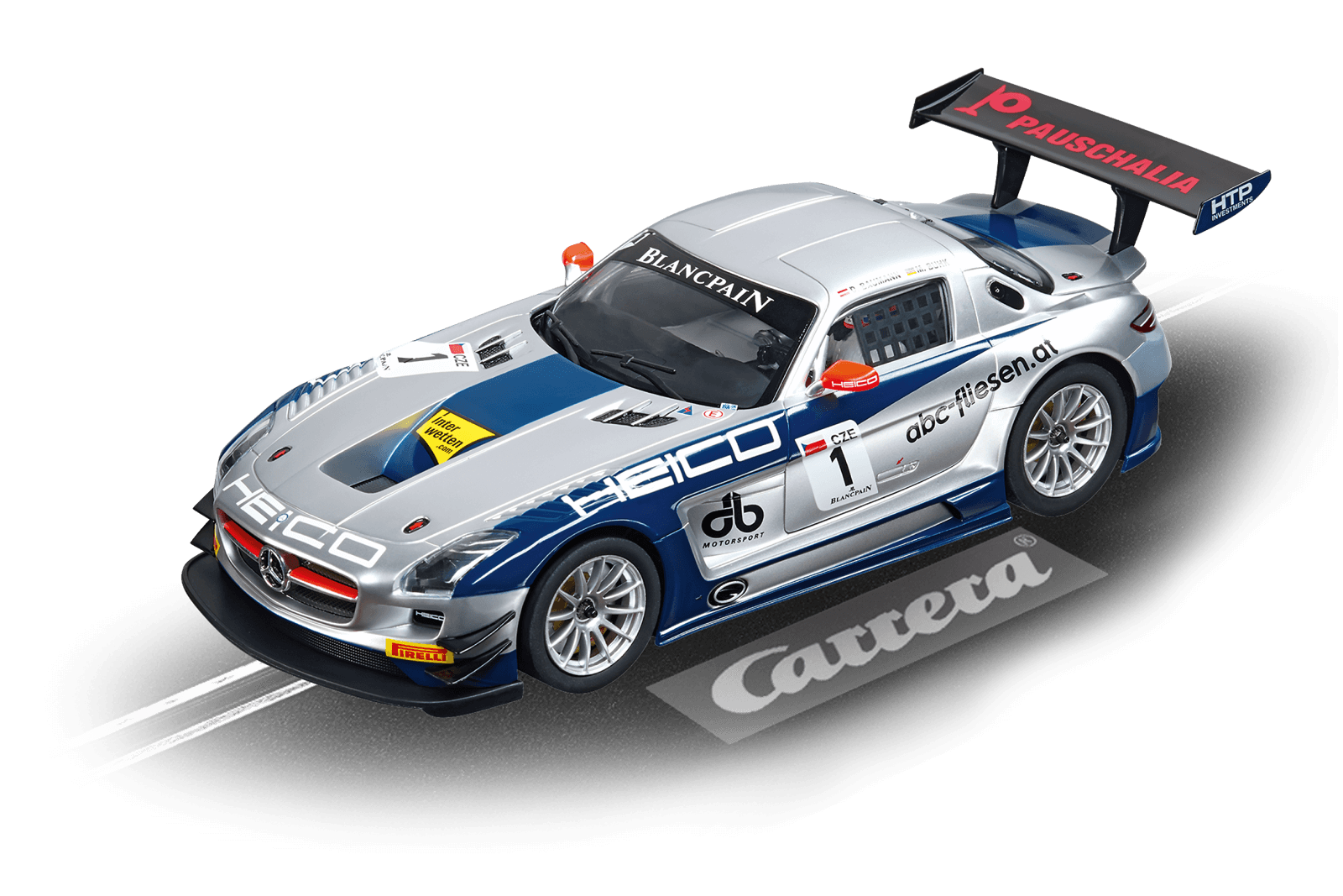 Top Tuning Carrera 124 Digitale - Mercedes SLS AMG Gt3 -   Heico   come 23791