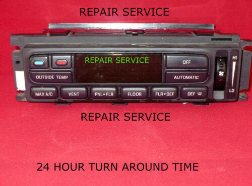 2003 FORD CROWN VIC A//C HEATER CONTROL REPAIR SERVICE