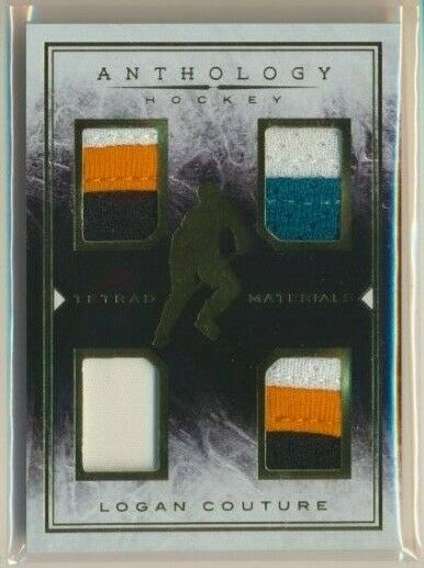 2014-15 Panini Anthology Tetrad Materials Patches Logan Couture /199