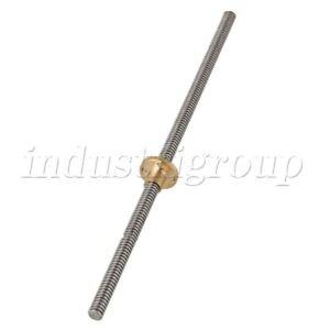 T8-Lead-Screw-Pitch-2mm-Lead-8mm-Rod-Stainless-Lead-Screw-Brass-Nut