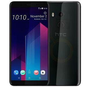 Entierement-neuf-dans-sa-boite-HTC-U11-Plus-128-Go-Noir-Double-SIM-Android-Debloque-4-G-Simfree