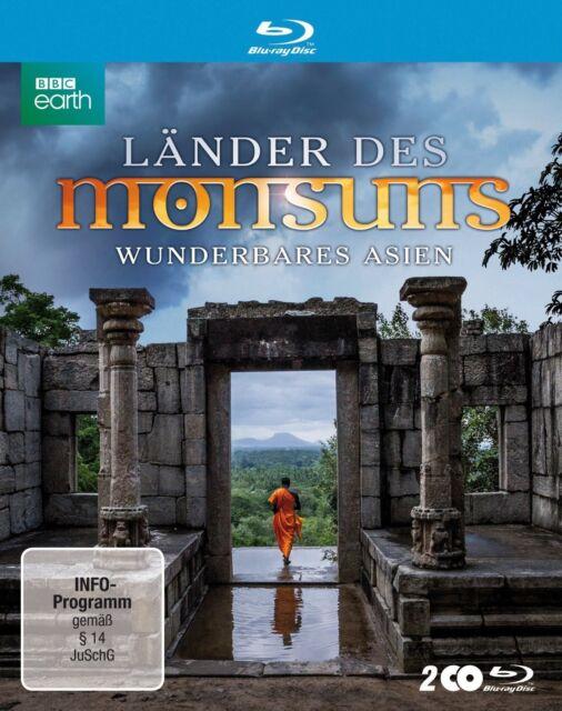 LÄNDER DES MONSUNS - WUNDERBARES ASIEN 2 BLU-RAY NEU