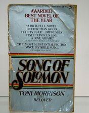 Song of Solomon by Toni Morrison (1978, Paperback)