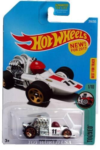 2017 Hot Wheels #269 Tooned Head Starter white