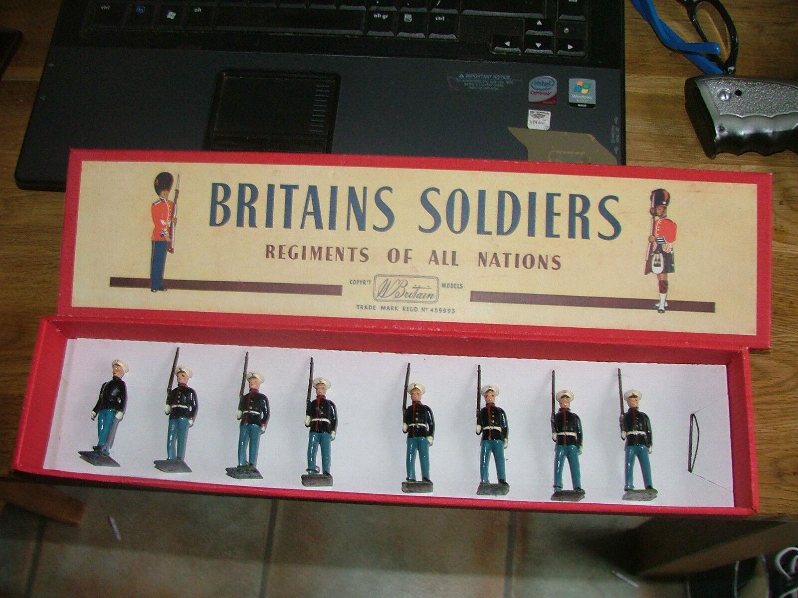 Britannici 228 Pugned Set Lead U.S. Marines a Slope USMC MINT IN STcorrereG scatola