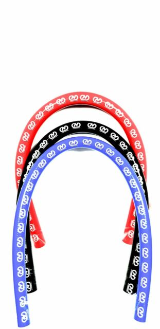 83mm ID Red 1 Metre Length Straight Silicone Hose AutoSiliconeHoses