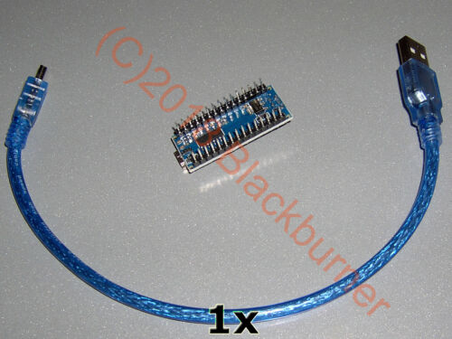 3 Compatible 1-10x Nano r3 ATMEGA 328 development board ch340g Arduino UNO Rev