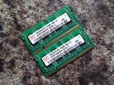 LAPTOP RAM- HYNIX 2GB (2x1GB) | 800MHz DDR2 | 2Rx16 PC2-6400S | HYMP112S64CP6-S6
