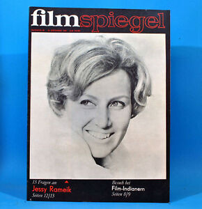 GDR-Filmspiegel-25-1969-Gojko-Mitic-Claudia-Cardinale-Jessy-Rameik-G-Buttner