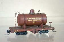 BINKLEY KIT BUILT HOn3 NARROW GAUGE COLORADO NORTHERN CN TRACK CLEANING WAGON nd