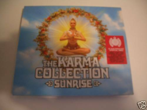KARMA COLLECTION SUNRISE -2CD MINISTRY OF SOUND.