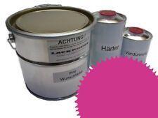 1,5 Set Litre 2K Revêtement de sol RAL 4003 Violet Glanz Peinture de sol Atelier