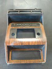 1980 1986 Ford Xlt Lariat Truck Bronco Woodgrain Dash Radio Heater Trim Bezel