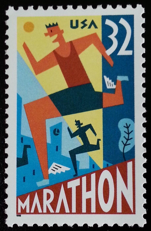 1996 32c Marathon Runner Scott 3067 Mint F/VF NH