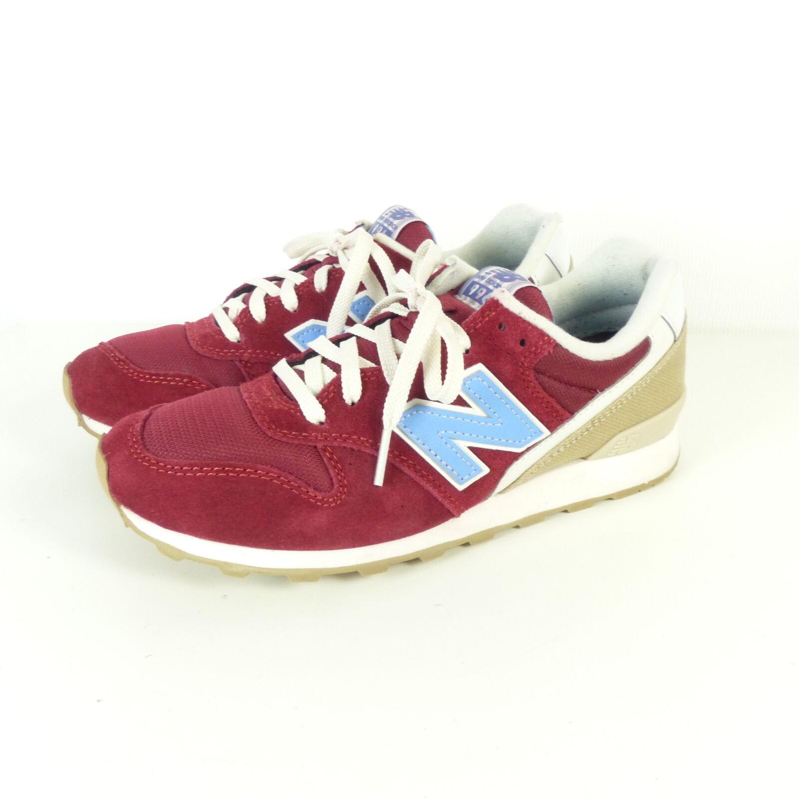 NEW BALANCE Sneaker Turnschuhe WR996HF  Turnschuhe Sneaker Rot Burgund Gr. EUR 37,5   7 (SR9) 3c2d3e