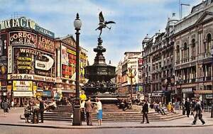 Statue of eros piccadilly circus