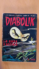 DIABOLIK anno IX n. 20  La bara d'acciaio   ORIGINALE  Sodip 1970