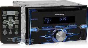 NEW-PIONEER-FH-X520UI-DOUBLE-DIN-CAR-AUDIO-STEREO-CD-PLAYER-PANDORA-amp-REMOTE