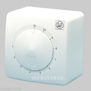 Dimmer s p 2 5a regulador de potencia caudal intensidad - Regulador intensidad luz ...