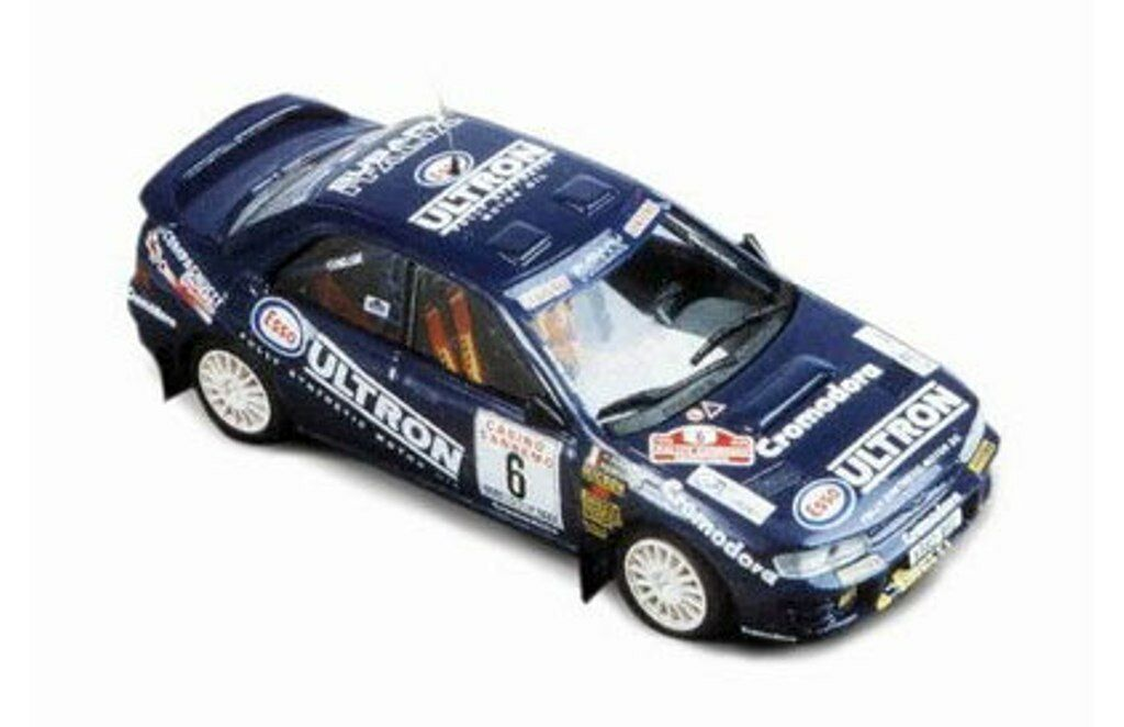 TROFEU 612 Subaru Impreza Diecast Rally Voiture Ultron Liatti San Remo 1995 1 43rd
