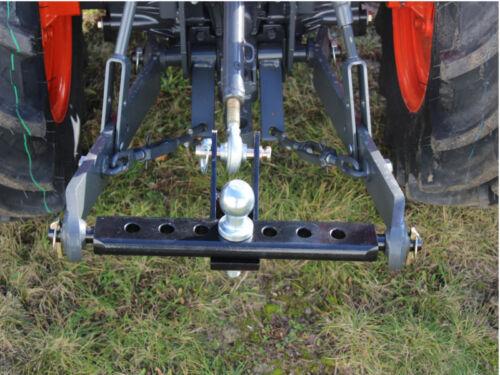 Verdrehsicherung Kat.1 /& Kat.2 Ackerschiene Kugelkopfbolzen Sicherung Traktor