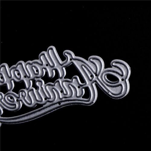 Pip happy anniversary Metal Cutting Dies Stencil Scrapbooking Photo Album ER