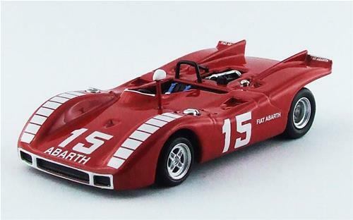 Abarth 2000 Sp Nurburgring 1970 K. Ahrens Jr. Best 1 43 BE9565