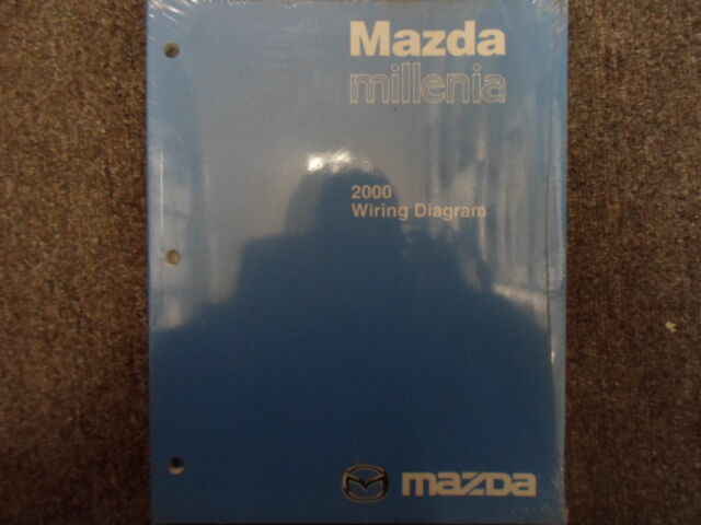 2000 Mazda Millenia Electrical Wiring Service Repair Shop