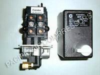 Mdr3 Condor Combo Pressure Switch/magnetic Starter 20-30 Amp Air Compressor Part