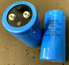 1 Sprague Powerlytic 36DX203G040BC2A 20,000uF 40VDC Electrolytic Capacitors