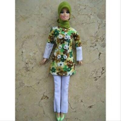 Muslim Doll Handmade Clothes Hijabi Doll Girls Eid Gift
