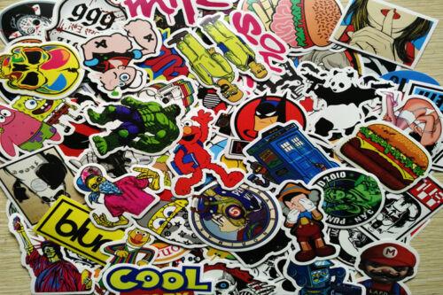 100 Pcs Sticker Bomb Decal Vinyl Roll for Car Skate Skateboard Laptop Luggage SP