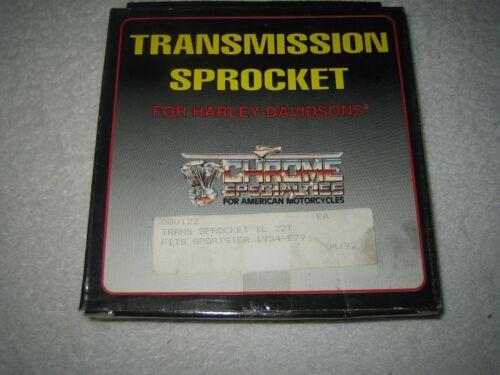 XL XLH Sportster Ironhead K KH Harley Getriebe Ritzel Sprocket Trans 22 T 54