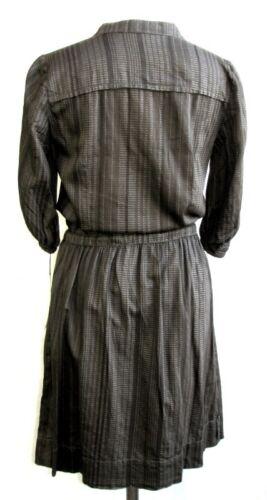 Beige Etiq Sorel Marrone Cotone Camicia 38 Grigio Vestito Helena amp; Taglia A6Bq0B