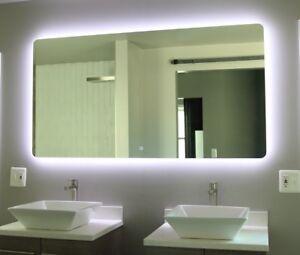 48 vanity mirror 36 inch image is loading 48034x31034ledilluminatedwallmount 48