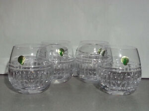 Waterford Crystal Red WIne Stemless Glasse Set of 4 New no Box
