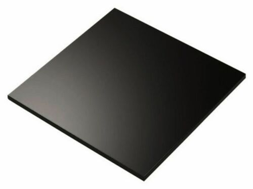 "3mm Thick Acrylic Plexiglass AZM 10 PACK 3/"" Black Circle Round Disc 1//8/"""