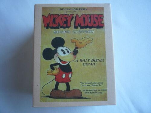 Figurine MICKEY 90 ans Collector Neuf Edition Limitée Kevin/&Jody