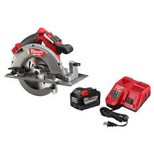 Milwaukee Circular Saw With M18 18-Volt 9.0Ah Starter Kit (48-59-1890PC)
