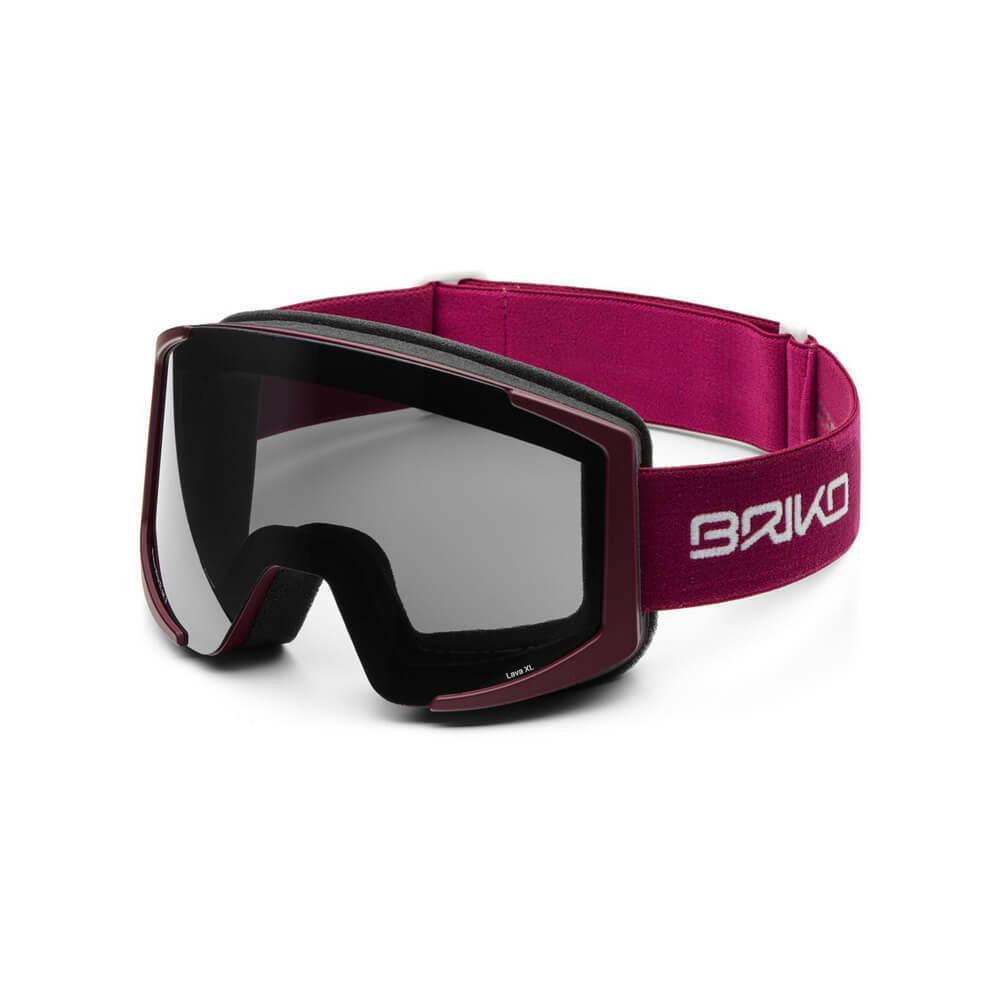 Briko Lava XL Ski Goggle - Mulberry purple