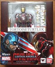 S.H.Figuarts Iron Man Mark 46 Captain America Civil War Action Figure Marvel