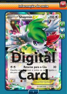 1x Shaymin Ex 77108 Sent Almost Instant Digital Card