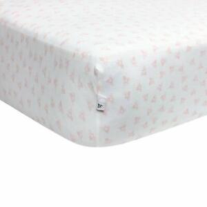 Girls /& Unisex 100/% Organic Cotton... Burt/'s Bees Baby Fitted Crib Sheet