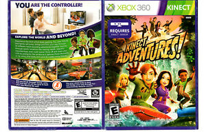 Details about New XBOX 360 Kinect Adventures Microsoft // NTSC