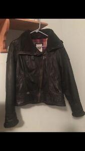 medium Jacket Harley Dame Davidson Riding Black Leather 200 wYOvq7