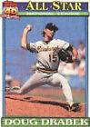 1991 Topps Doug Drabek #405 Baseball Card