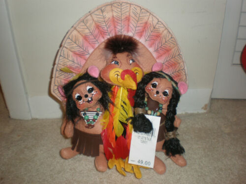 ANNALEE 10 2007 LET'S TALK  TURKEY NEW WITH TAG