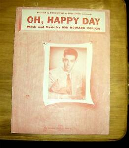 oh happy day sheet music pdf