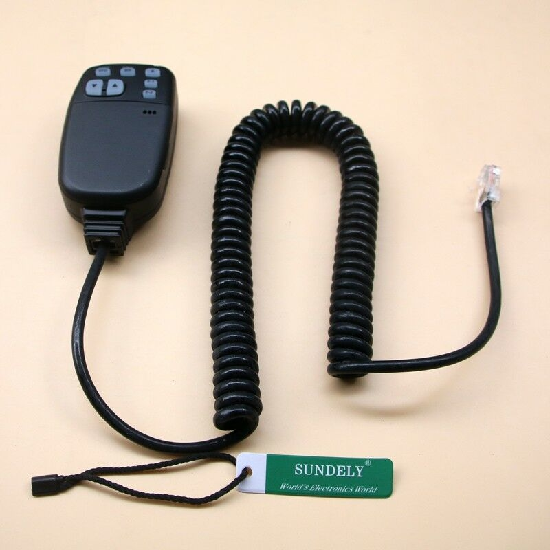 HM-98S DTMF Handheld Mic for ICOM Car Mobile Radio IC-2100H IC-2710H IC-2800H US