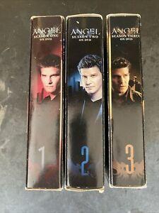 Lot 3 Angel TV Series DVD Season 1, 2, & 3